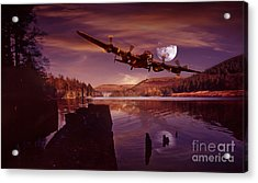 At The Going Down Of The Sun Acrylic Print by Nigel Hatton