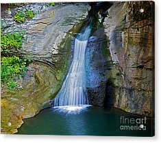 At The Well Acrylic Print by Robert Pearson