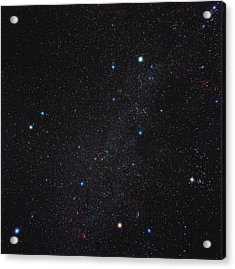 Auriga Constellation Acrylic Print by Eckhard Slawik