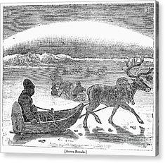 Aurora Borealis, 1833 Acrylic Print by Granger
