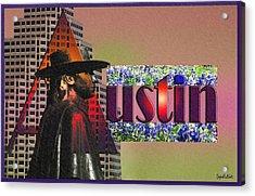 Austin City Limits Acrylic Print by Stephen Paul West
