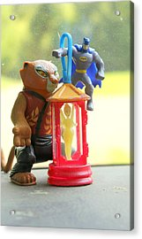 Auto Icons Protect Us Acrylic Print by Gwynyfier Is