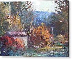 Autumn Glory Acrylic Print by Pamela Pretty