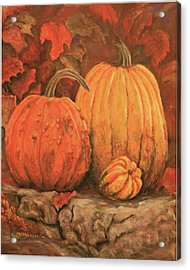 Autumn Harvest Acrylic Print by Peggy McMahan