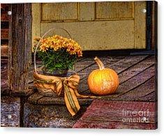Autumn Acrylic Print by Lois Bryan