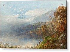 Autumn On The Androscoggin Acrylic Print by William Sonntag