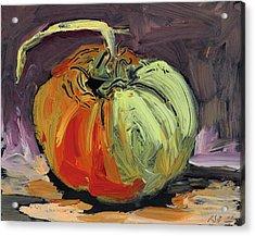 Autumn Tomato Acrylic Print by Scott Bennett