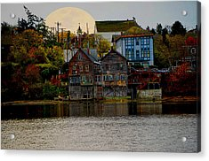 Autumn View Acrylic Print by Kurt Adams