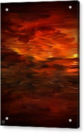 Autumn's Grace Acrylic Print by Lourry Legarde