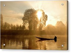 Awakening   (kashmir,india) Acrylic Print by PKG Photography