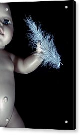 Baby Doll With Feather Acrylic Print by Joana Kruse