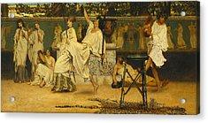 Bacchanal Acrylic Print by Sir Lawrence Alma-Tadema