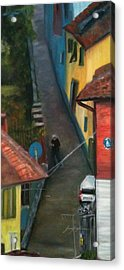 Back Street  Acrylic Print by Betty Pimm