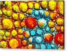 Bacteria 1 Acrylic Print by Angelina Vick
