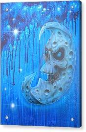 Baddmoon Acrylic Print by Mike Royal