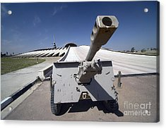 Baghdad, Iraq - An Iraqi Howitzer Sits Acrylic Print by Terry Moore