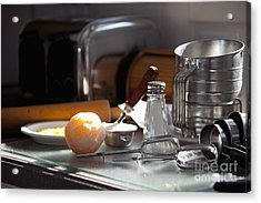 Baking Still Life Acrylic Print by Will & Deni McIntyre