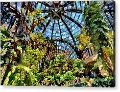 Balboa Park Botanical Gardens Acrylic Print by Russ Harris