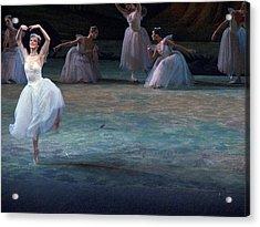 Ballerinas At The Vaganova Academy Acrylic Print by Richard Nowitz