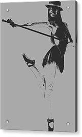 Ballet Girl Acrylic Print by Naxart Studio