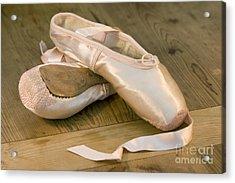 Ballet Shoes Acrylic Print by Jane Rix