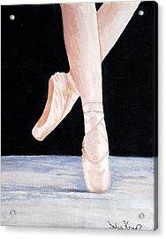 Ballet Shoes Acrylic Print by Julie Kraft