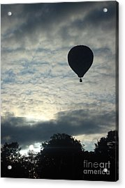 Balloon Shadow Acrylic Print by Tina McKay-Brown