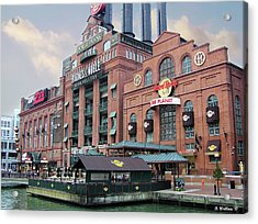 Baltimore Power Plant Acrylic Print by Brian Wallace