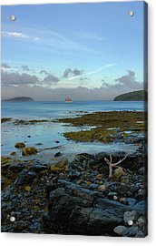 Bar Harbor Evening Acrylic Print by Stephen  Vecchiotti