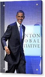 Barack Obama In Attendance For Annual Acrylic Print by Everett