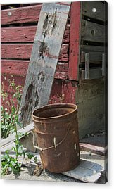 Barn And Barrel Acrylic Print by Todd Sherlock