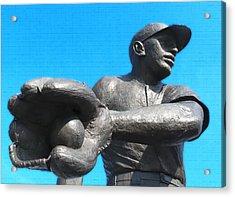 Baseball - Americas Pastime Acrylic Print by Bill Cannon