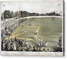 Baseball, 1866 Acrylic Print by Granger