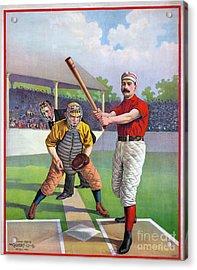 Baseball Game, C1895 Acrylic Print by Granger