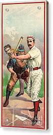 Baseball Player, C1895 Acrylic Print by Granger
