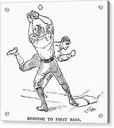 Baseball Players, 1889 Acrylic Print by Granger