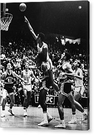 Basketball Game, 1966 Acrylic Print by Granger