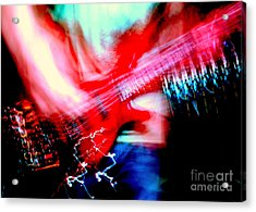 Bass Guitar 1 Acrylic Print by Jason D Rogers