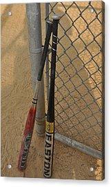 Batting For Danny  Acrylic Print by Brynn Ditsche