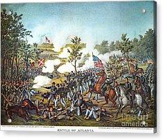 Battle Of Atlanta, 1864 Acrylic Print by Granger