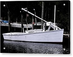Bay Clammer Acrylic Print by Kevin Brant