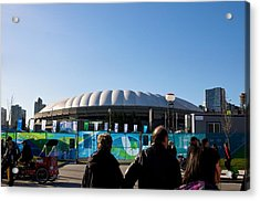 Bc Place Acrylic Print by JM Photography
