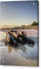 Beach Ruins  Acrylic Print by Drew Castelhano