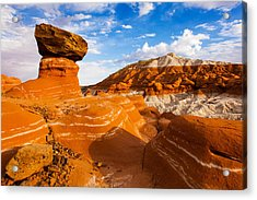 Beautiful Badlands Acrylic Print by James Marvin Phelps