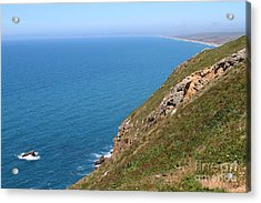 Beautiful Coastline Of Point Reyes California . 7d16017 Acrylic Print by Wingsdomain Art and Photography