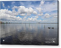 Beautiful Day In Tampa Acrylic Print by Carol Groenen