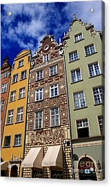 Beautiful Gdansk Acrylic Print by Sophie Vigneault