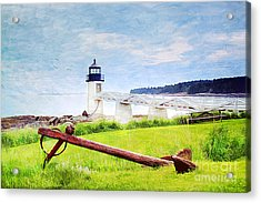 Beautiful Maine Acrylic Print by Darren Fisher