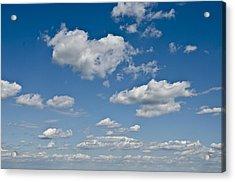 Beautiful Skies Acrylic Print by Bill Cannon