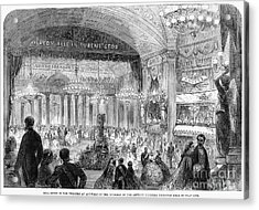 Beaux Arts Ball, 1861 Acrylic Print by Granger